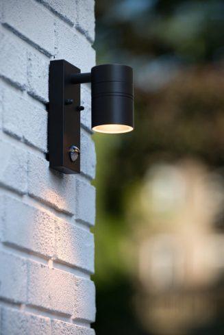 Buitenlamp met bewegingsmelder
