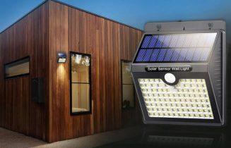 Buitenlamp met zonne-energie